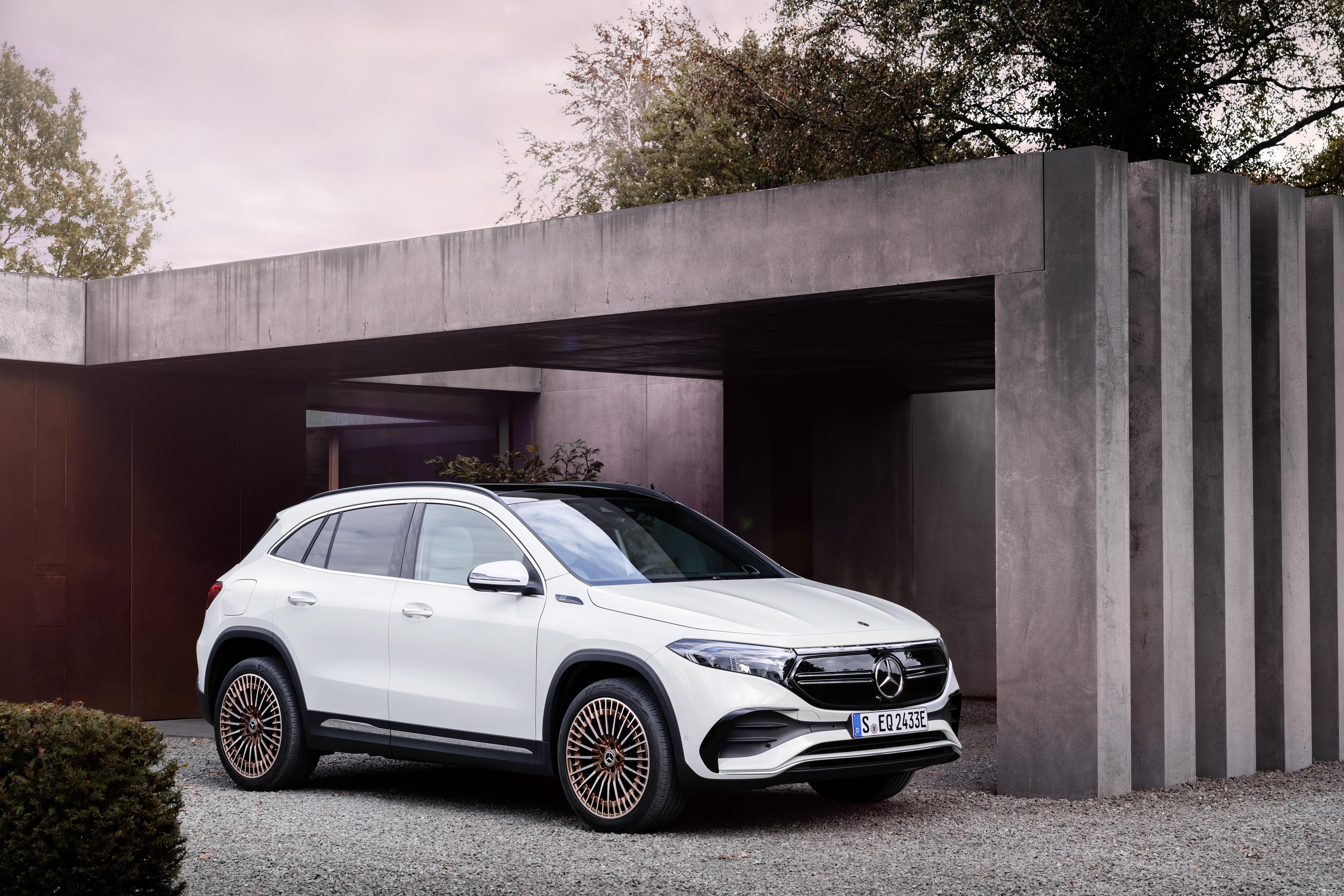 Priserna klara för Mercedes-Benz eldrivna kompakt-suv.