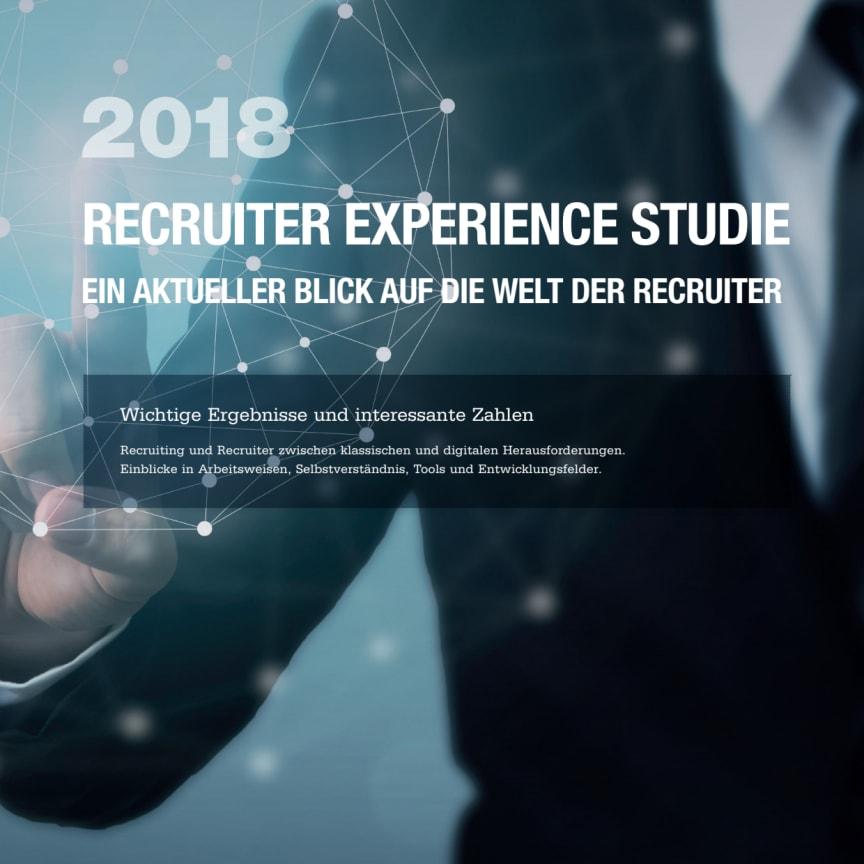 Executive Summary Recruiter Experience Studie 2018