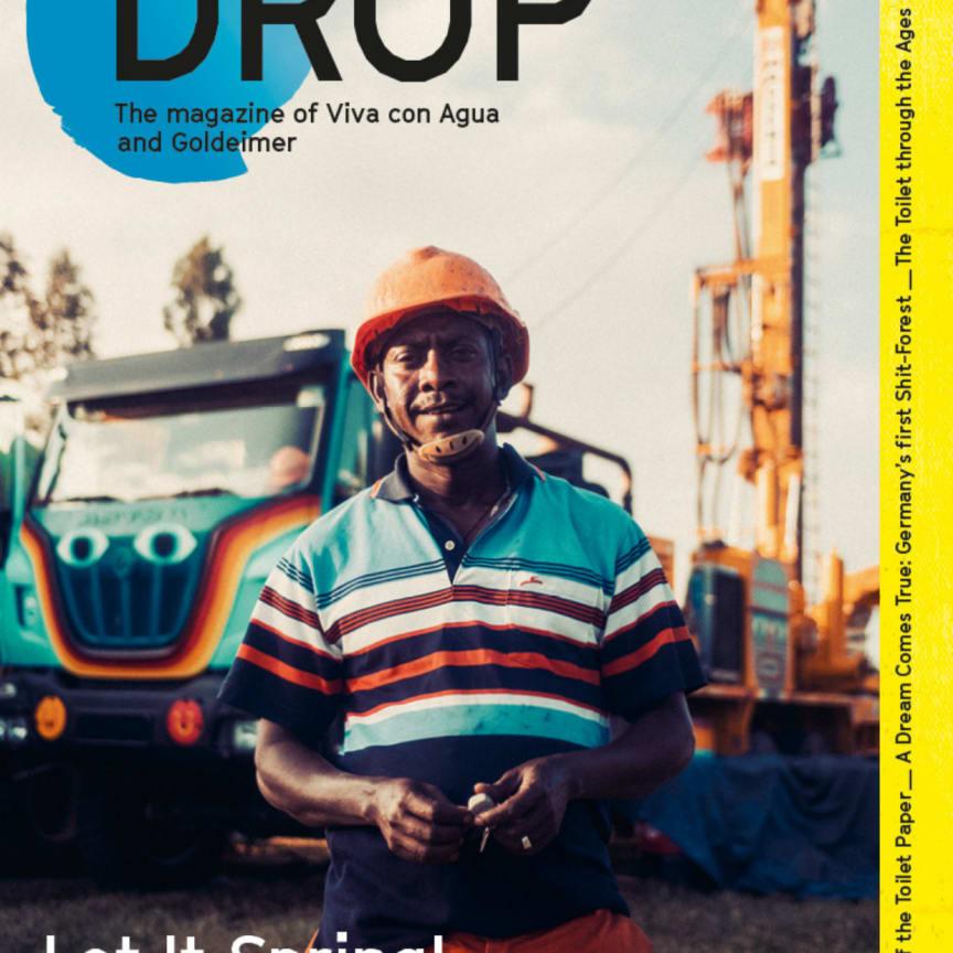 Drop - The Viva con Agua and Goldeimer Magazine