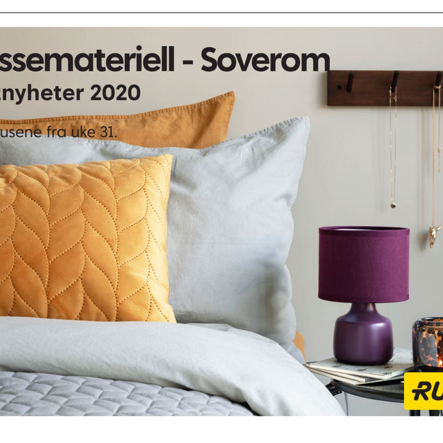 Pressemateriell Soverom - Høst 2020
