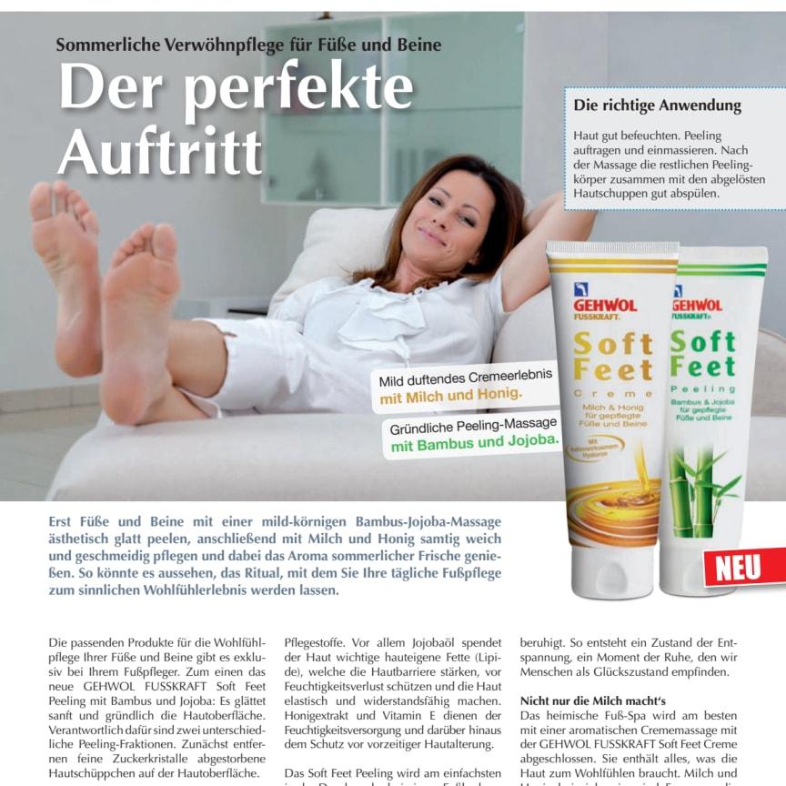 Der perfekte Auftritt: Sommerliche Verwöhnpflege für Füße und Beine