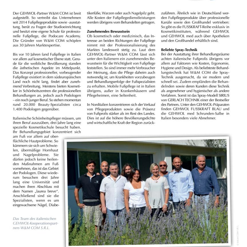 Gerlach in Italien: Im Süden was Neues