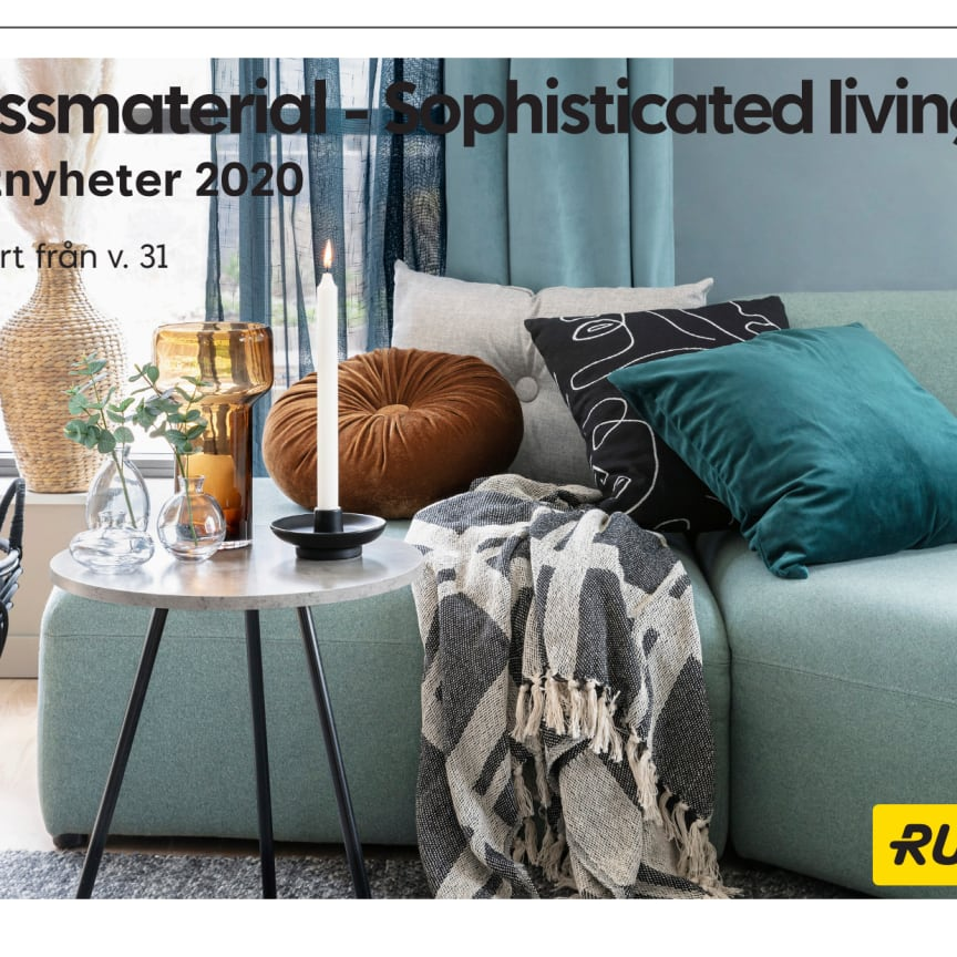 Pressmaterial Sophisticated living - Hösten 2020