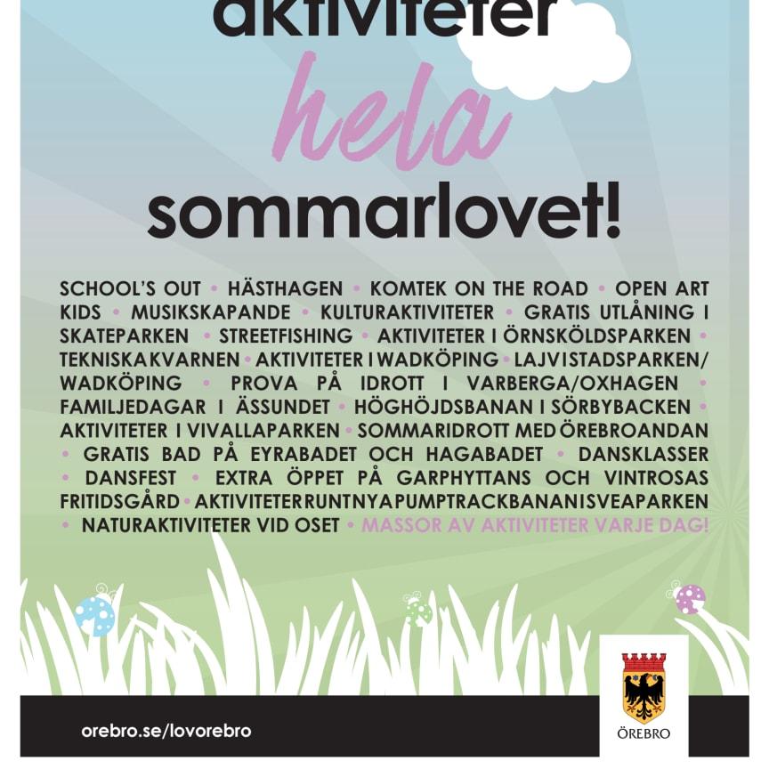 Lov Örebro Sommaraffisch