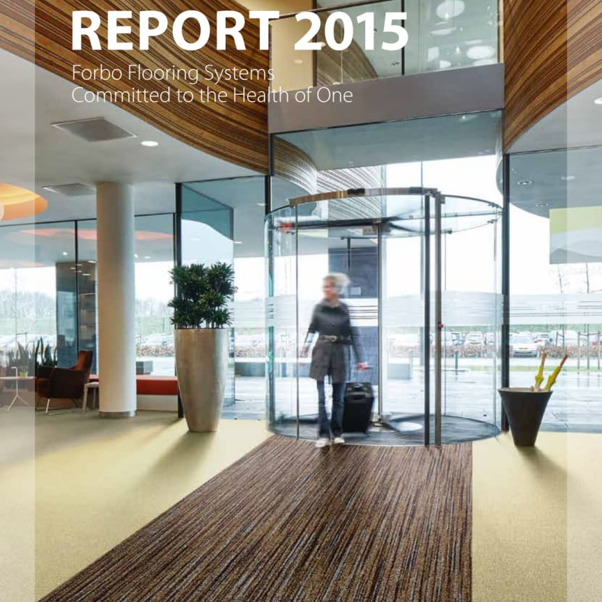 Forbo Flooring Systems Sustainability Report 2015