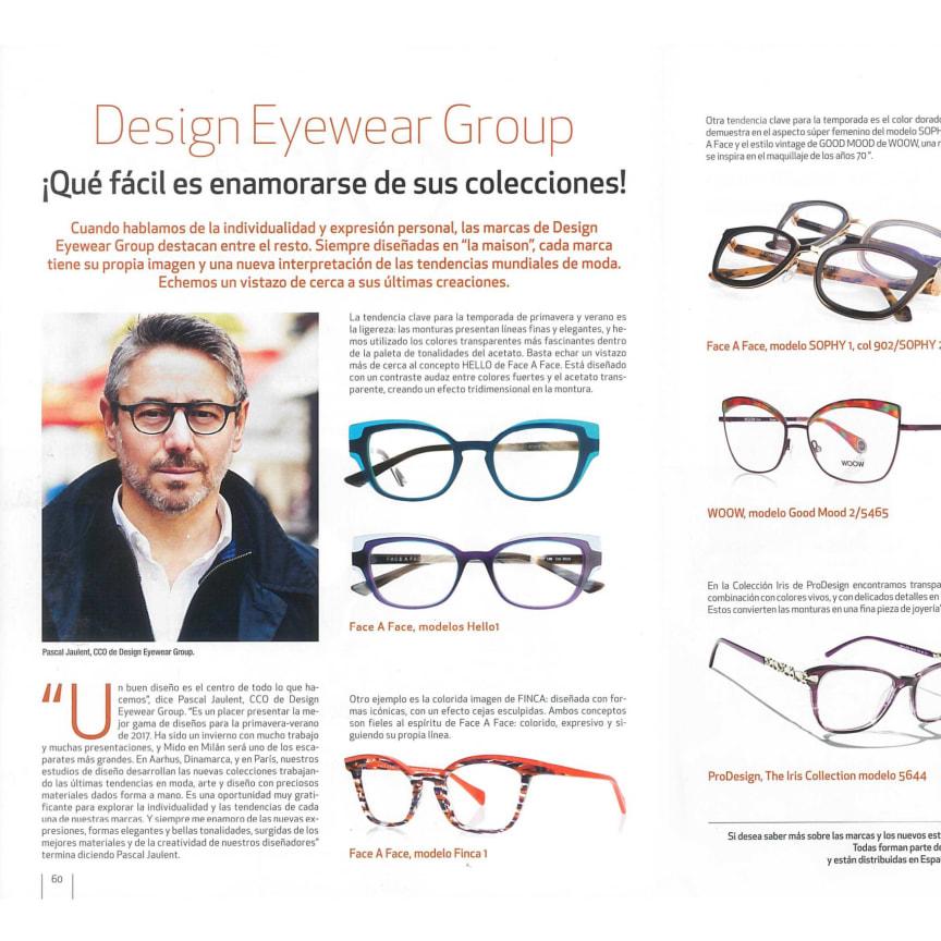 DesignEyewearGroup Look Vision mars 2017