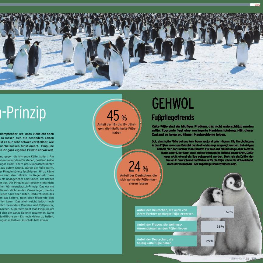 Das Pinguin-Prinzip: Kuscheln und kalte Füße