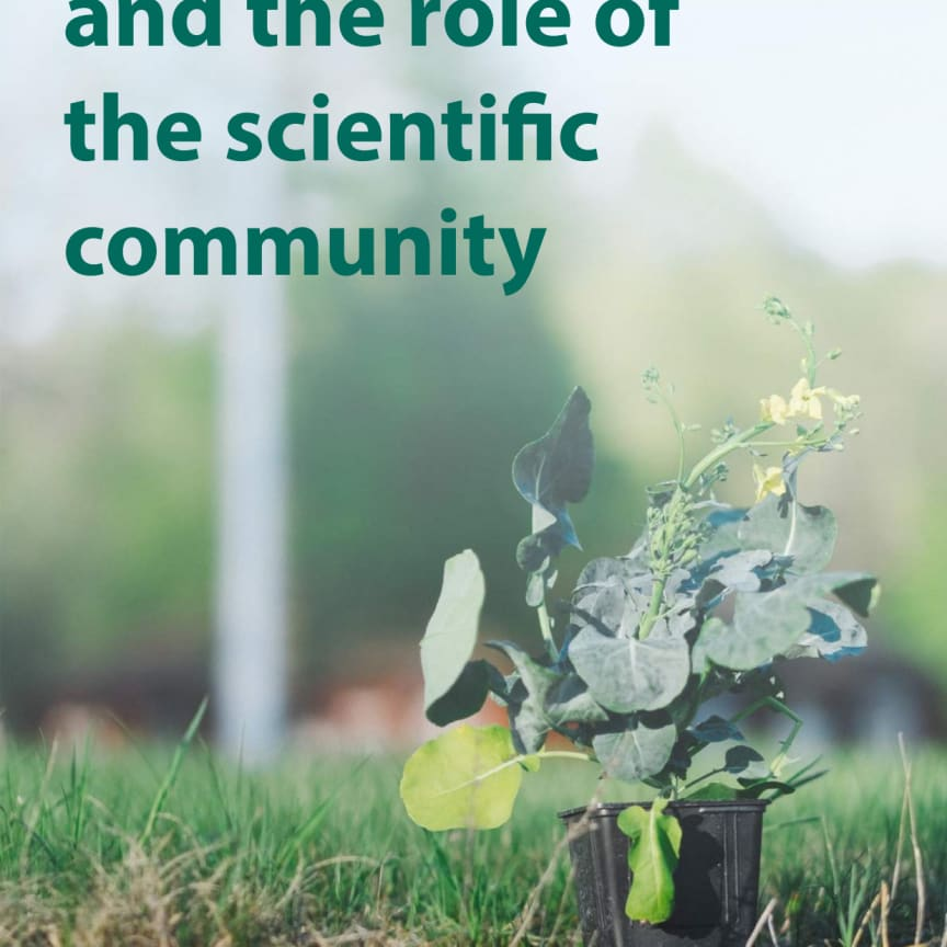 On gene technology and the role of the scientific community