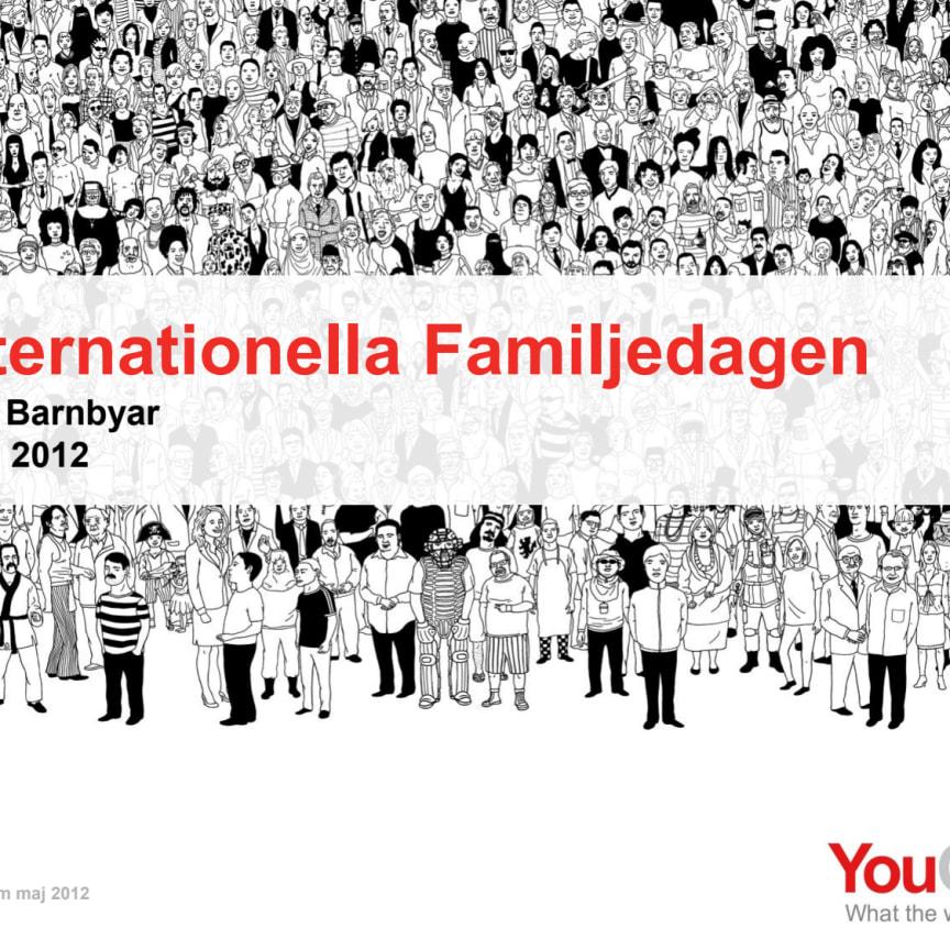 Undersökning bland allmänheten maj 2012