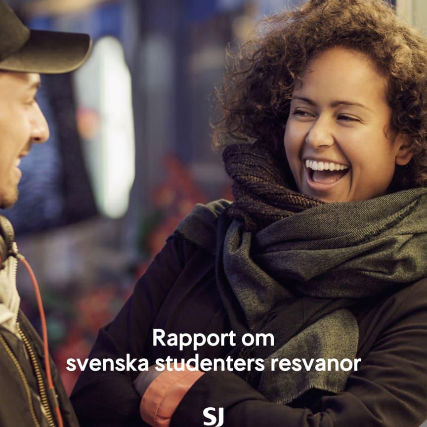 Ny rapport: Studenterna väljer tåg framför bil och flyg