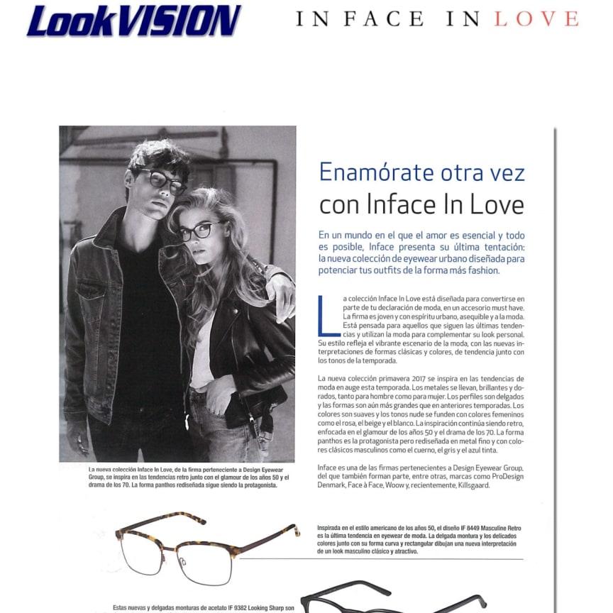 In Face In Love in LOOK Vison mars 2017