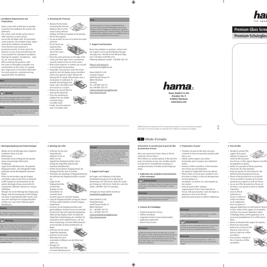 Skärmskydd pdf