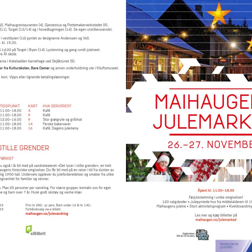 Program for Maihaugens julemarked 2016 (PDF)