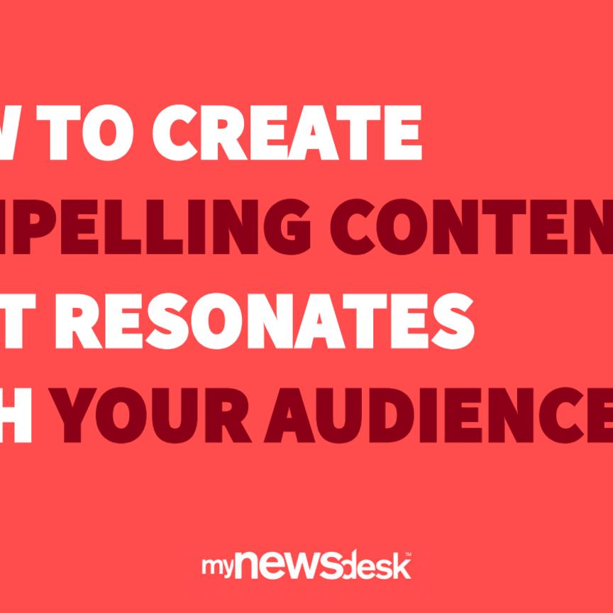Mynewsdesk Content Speaker Event Presentations