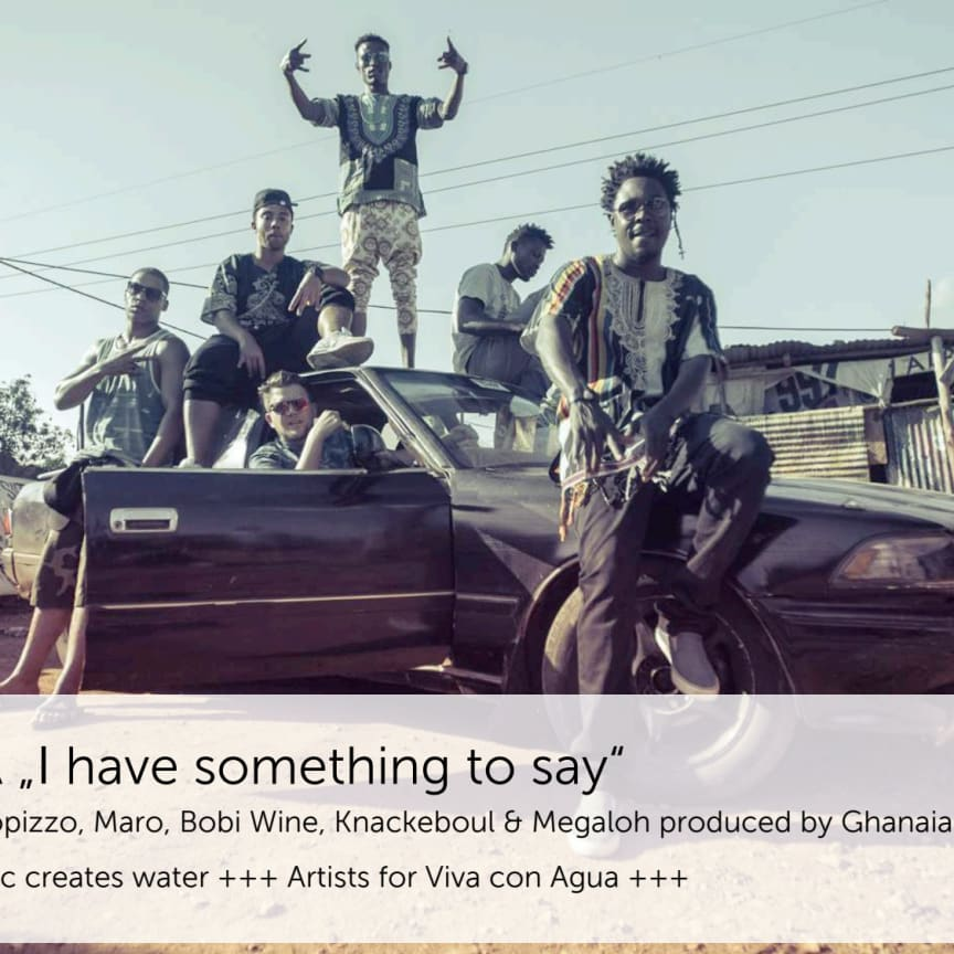 "O-TÖNE - Viva con Agua Allstars Premiere: Internationale HIP HOP KOLLABO ""SEMA - Say it!"""