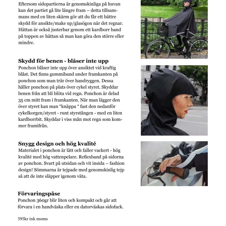 Cykelponchon Freesight