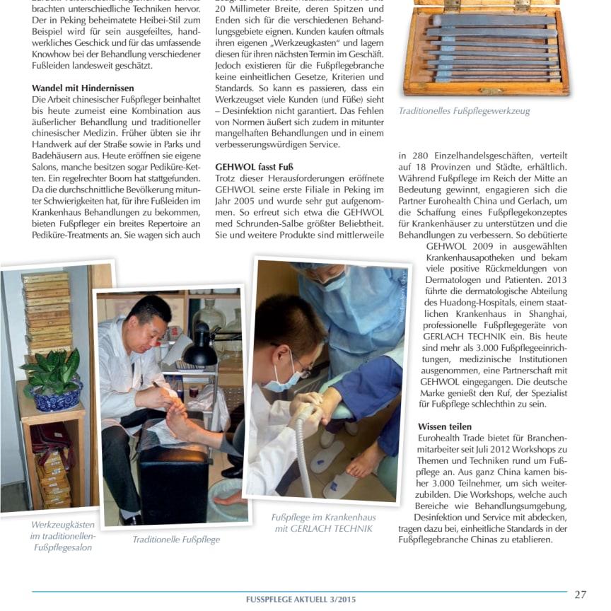 Gerlach in China: Zwischen Tradition und Moderne