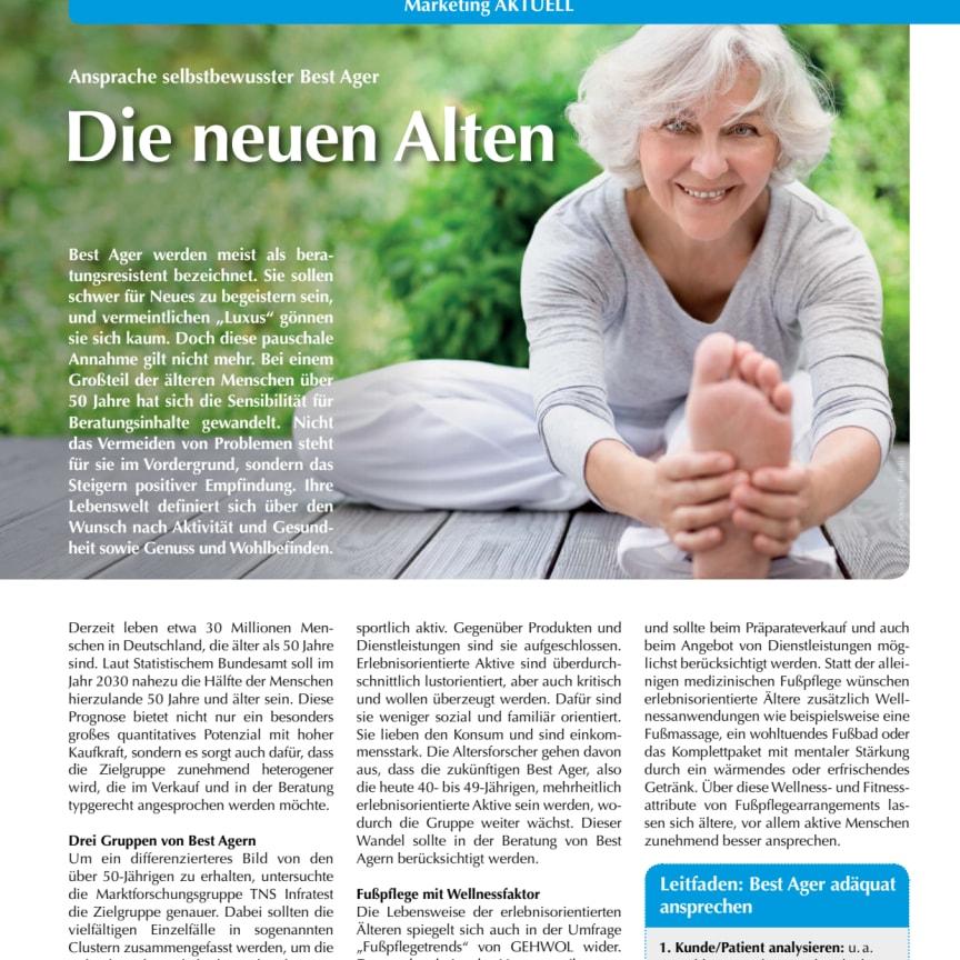 Die neuen Alten: Ansprache selbstbewusster Best Ager