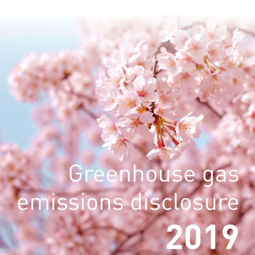 The Haga Initiative Climate Disclosure 2019