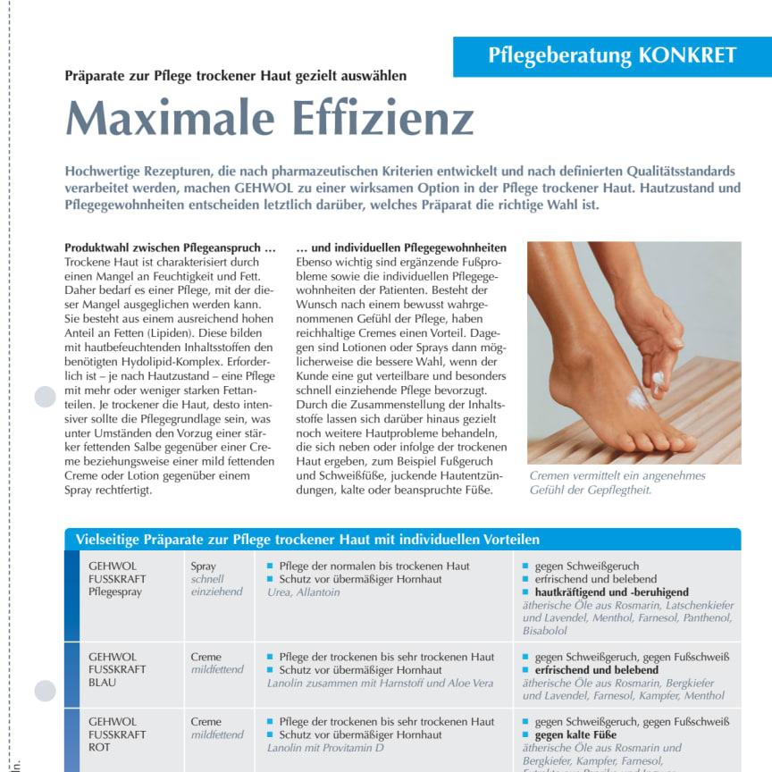 Maximale Effizienz: Präparate zur Pflege trockener Haut gezielt auswählen