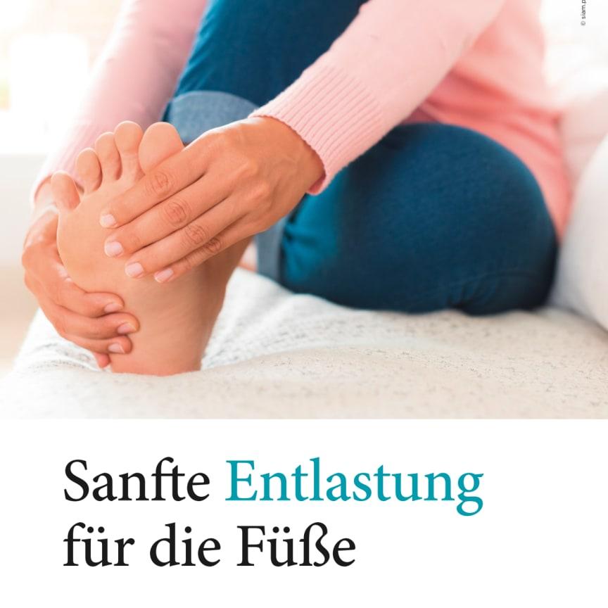 Sanfte Entlastung für die Füße
