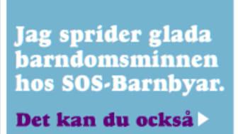 SOS-Barnbyars julkampanj sprider glada barndomsminnen