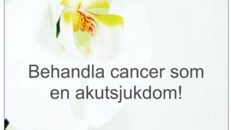 Nätverket mot cancer medverkar på Forskning och Hälsa i Kungsträdgården