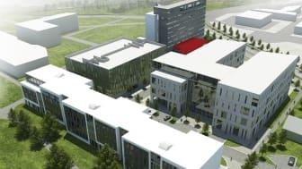 Startskott för byggnationen av Lunds nya mötesplats