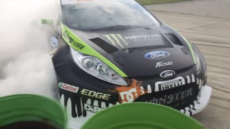 Ford i samarbete med Ken Block om Gymkhana World Tour