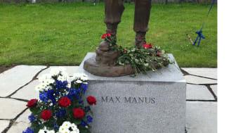 Max Manus avduket