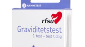 RFSUs graviditetstest - nå også i dagligvare!