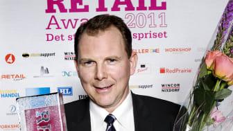 Vinnare Årets butik Retail Awards 2011