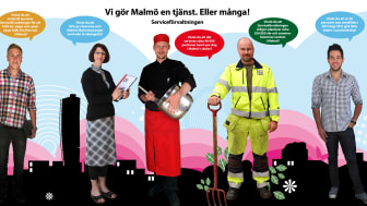 Serviceförvaltningen på Malmöfestivalen, 2012