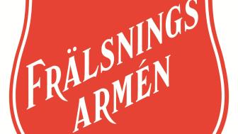 Frälsningsarméns nya logga presenteras i Nordstan denna vecka