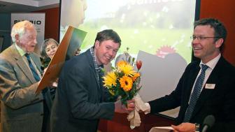 Daniel Nilsson tilldelas Jan Häckners Bioenergistipendium