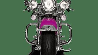 Motorcykelolyckorna har minskat med en femtedel