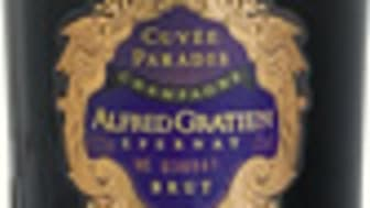 Den 21 april släpps 2000 buteljer av Champagne Alfred Gratien Cuvée Paradis 2008 i Systembolagets exklusiva sortiment