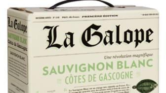 Nyhet i beställningssortimentet - La Galope, klassisk fransk Sauvignon Blanc från Côtes de Gascogne!