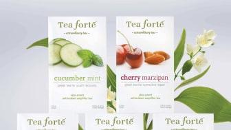 Skin-Smart Collection från Tea Forté – skönhet inifrån och ut!