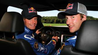 VM-förare lär Skodaägare köra bil