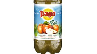 Pago lanserar ekologisk äppeljuice