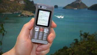 Världspremiär: Ny svensk mobiltjänst håller koll på din flight