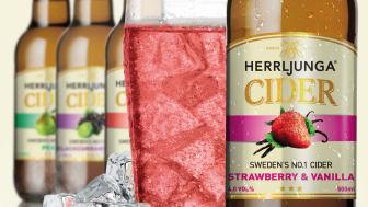 Herrljunga Cider Perfect Serve Strawberry & Vanilla