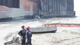 International spotlight on standards in shipbreaking