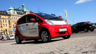 Mitsubishis elbil först ut i Sverige