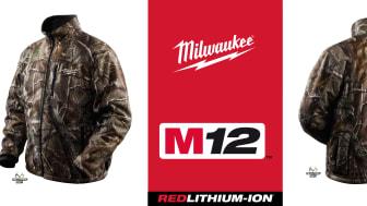 Milwaukee värmejacka i kamoflage - en varm nyhet för alla jägare