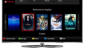 Viaplay i Samsungs smarta tv-apparater