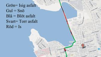 Bättre trafiksäkerhet med ny metod att förutse väglag