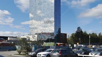 Scandic Victoria Tower kan bli vinnare i Cannes