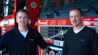 Trådlöst visar vägen för Nerikes brandkår